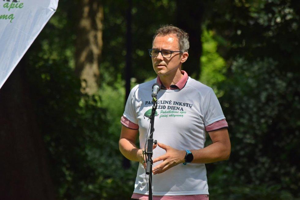 Vilniaus universiteto ligoninės Santaros klinikų Urologijos centro Urologijos skyriaus vedėjas dr. Albertas Čekauskas