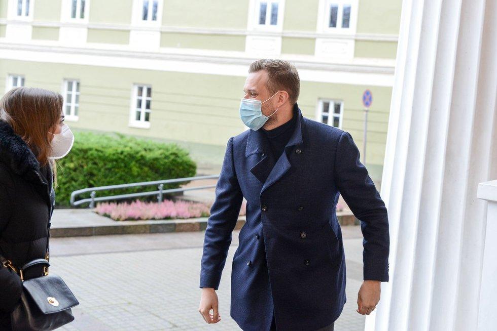 G. Landsbergis lankėsi pas prezidento patarėjus