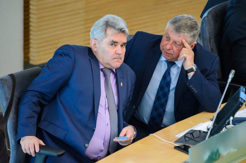 Kęstutis Bartkevičius ir Jonas Liesys