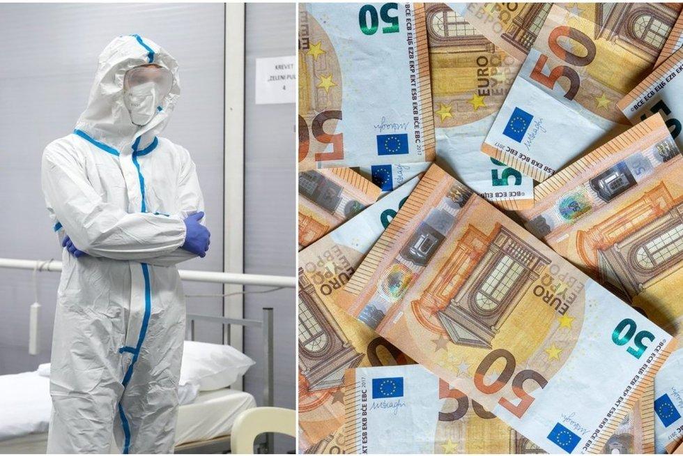 Ministerijos pinigai – projektams iš fantastikos srities: už daugiau nei milijoną kurs jodą nuo koronaviruso? (tv3.lt ir SCANPIX fotomontažas) (nuotr. stop kadras)