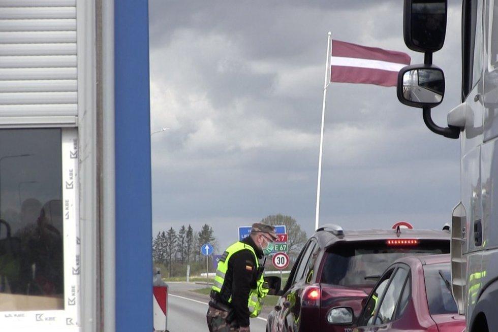 Pasienis su Latvija (nuotr. stop kadras)
