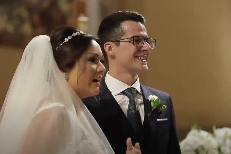 Jaunikis nustebino nuotaką iki ašarų: to ceremonijoje nesitikėjo