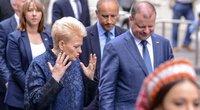 Dalia Grybauskaitė ir Saulius Skvernelis (nuotr. Fotodiena.lt)