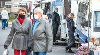 Karantino grimasos: senjorai nežino, ar pateks pas gydytojus, verslininkai tikisi valdžios pagalbos (nuotr. Fotodiena/Justino Auškelio)