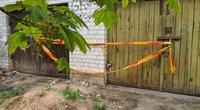Vilniaus centre esančiame garaže asociali moteris nužudė asocialų vyrą (nuotr. Broniaus Jablonsko)