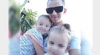 Algirdas Kučinskas vienas augina dvi dukrytes – mama vaikų atsisakė. / Asmeninio archyvo nuotr.