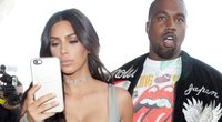 Kim Kardashian ir Kanye West (nuotr. SCANPIX)