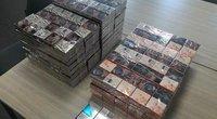 Vienoje Antakalnio gydymo įstaigų – kontrabandinės cigaretės (nuotr. Policijos)