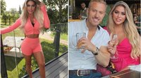 Bianca Gascoigne su vaikinu (nuotr. Instagram)