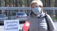 Koronaviruso židinys Nemenčinėje: trečdalis siuvyklos darbuotojų nesilaiko karantino (nuotr. stop kadras)