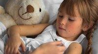 Vėjaraupiais sergantis vaikas (nuotr. shutterstock.com)
