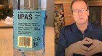Uspaskichas reklamavo savo vaikų bendrovės išgaunamą mineralinį vandenį? (tv3.lt fotomontažas)
