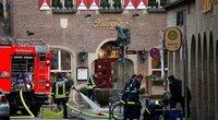 Vokietijos policija aiškinasi išpuolio Miunsteryje vykdytojo praeitį (nuotr. SCANPIX)