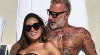 Gianluca Vacchi ir Sharon Fronseca (nuotr. Instagram)