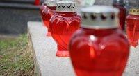 Žvakės kapuose (Nuotr. pranešimo spaudai)