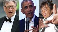 Žmonės labiausiai žavisi Gatesu, Obama ir Chanu (nuotr. SCANPIX)
