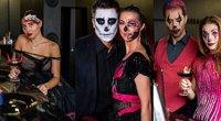 Žinomi žmonės paminėjo Heloviną(nuotr. Loretos Kondratės)