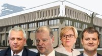 V. Jukna, S. Skvernelis, I. Šimonytė ir G. Paluckas (tv3.lt fotomontažas)