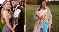 Zayn Malik ir Gigi Hadid su dukrele (tv3.lt fotomontažas)