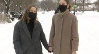 Emilija ir Marija susižadėjo, bet įteisinti partnerystės vis dar negali (nuotr. stop kadras)