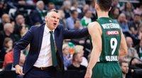Šarūnas Jasikevičius ir Leo Westermannas. (nuotr. Euroleague Basketball)