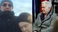 Vytautas V. Landsbergis pasidalijo jautriu kadru su savo mama (tv3.lt fotomontažas)