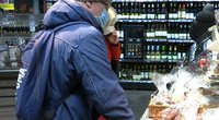 lietuviai ir vėl puolė į parduotuves (nuotr. stop kadras)