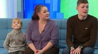 """Šeima po gaisro dėkoja """"TV Pagalbos"""" žiūrovams: paaukojo solidžią sumą"""