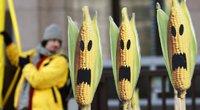 Protestas prieš genetiškai modifikuotą maistą (nuotr. SCANPIX)
