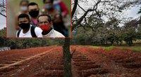 """Pietų Amerika """"liepsnoja"""": koronavirusas smogė negailestingai, nepaisant prezidento raginimo melstis (nuotr. SCANPIX) tv3.lt fotomontažas"""