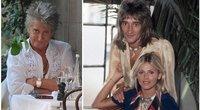 Rod Stewart ir Britt Ekland (nuotr. SCANPIX)