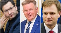Robertas Šarknickas, Jaroslav Narkevič, Arvydas Nekrošius (nuotr. tv3.lt)