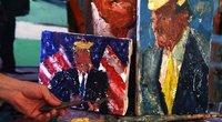 """Izraelio menininkas sukūrė 120 """"D. Trumpo atspalvių"""" (nuotr. SCANPIX)"""