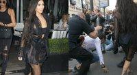 Kim Kardashian užpulta Paryžiuje (nuotr. Vida Press)