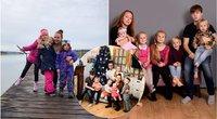 """6 vaikus auginanti Kristina apie motinystę: """"Tai darbas be išeiginių"""" (nuotr. asm. archyvo)"""