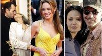 Angelina Jolie su James Heaven ir Billy Bob Thornton (nuotr. SCANPIX) tv3.lt fotomontažas