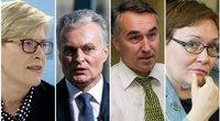Kandidatai į prezidentus (nuotr. SCANPIX) tv3.lt fotomontažas