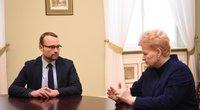 Prezidentei pateiktas kandidatas į kultūros ministrus (nuotr. Fotodiena.lt)