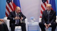 Trumpas ir Putinas pirmą kartą susitinka oficialiai (nuotr. SCANPIX)