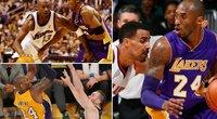 Nesustabdomas Kobe: vaizdo klipe – įspūdingiausias epizodas prieš kiekvieną NBA komandą