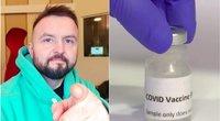 Stanislavas Stavickis-Stano pasidalijo nuomone apie antivakserius (tv3.lt fotomontažas)