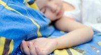 Miegantis vaikas. Asociatyvi nuotr. (nuotr. Fotolia.com)