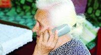 """Telefoniniai sukčiai dažniausiai taikosi į vyresnio amžiaus žmones (nuotr. """"Akistatos"""")"""