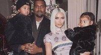 Kim Kardashian su šeima (nuotr. Instagram)