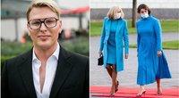 Saugirdas Vaitulionis, Brigitte Macron ir Diana Nausėdienė (tv3.lt fotomontažas)