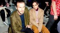 Victoria Beckham ir David Beckham (nuotr. SCANPIX)