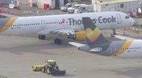 Thomas Cook lėktuvas (nuotr. stop kadras)