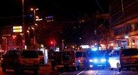 Išpuolis Vienoje prie sinagogos (nuotr. Scanpix)