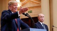 D. Trumpas susitiko su V. Putinu Helsinkyje (nuotr. SCANPIX)