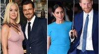 Katy Perry, Orlando Bloom, Meghan Markle, princas Harry (tv3.lt fotomontažas)